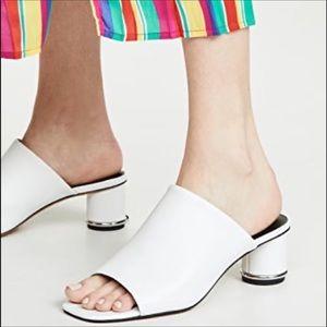 Rebecca Minkoff 8 1/2 Aceline peep toe mule